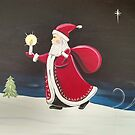 Hurry Santa, Christmas Season by Melissa Fryer