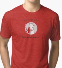 Psychotic Bear Tri-blend T-Shirt