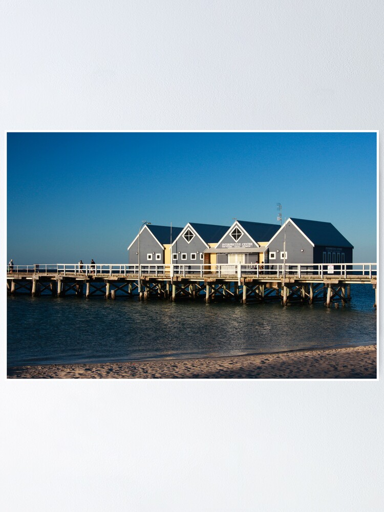 Alternate view of Busselton Jetty Poster