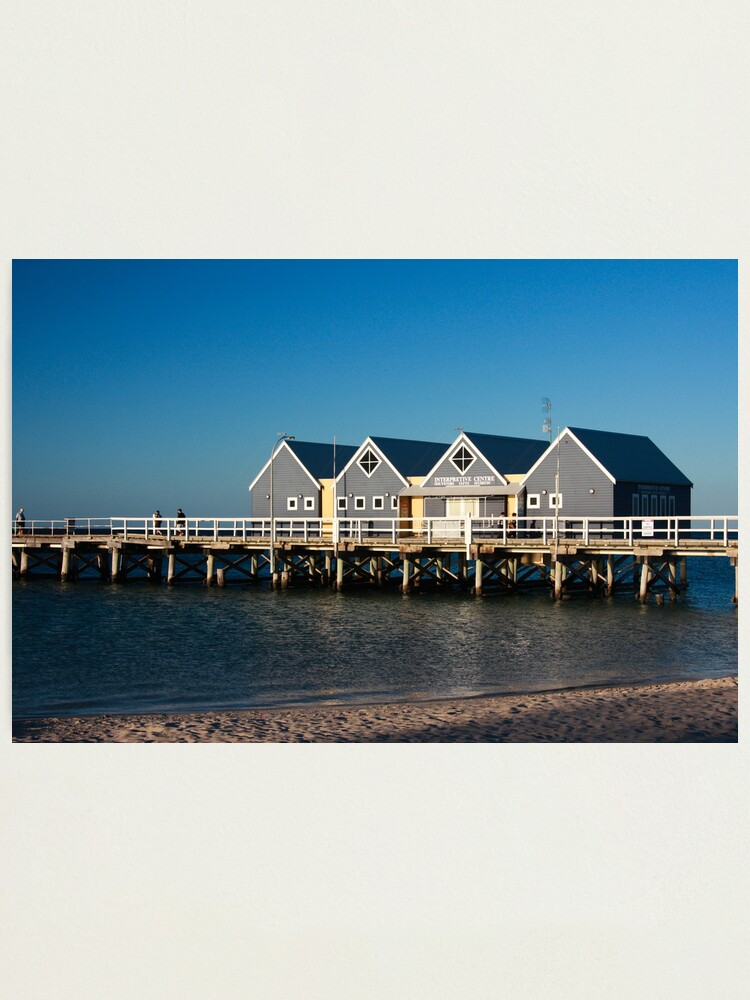 Alternate view of Busselton Jetty Photographic Print