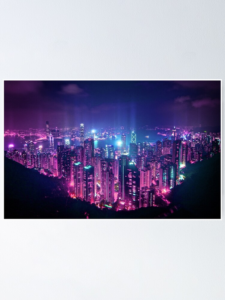 Alternate view of Hong Kong Neo Future Poster