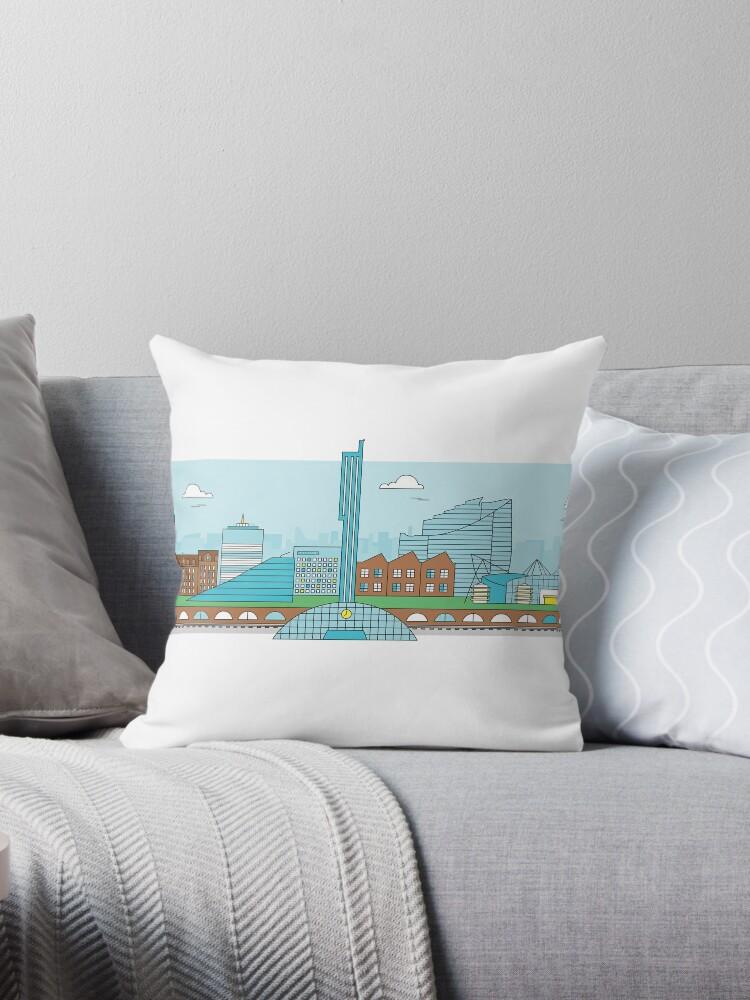 Manchester Skyline by jadesmithdesign