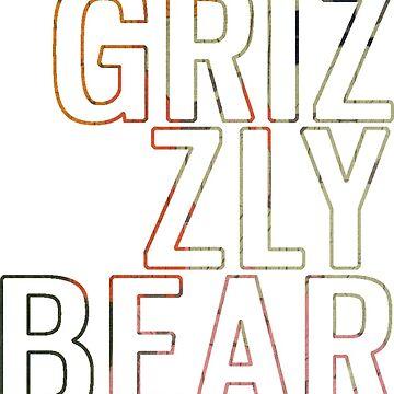 Grizzly Bear Band Design (Veckatimest) by slippi