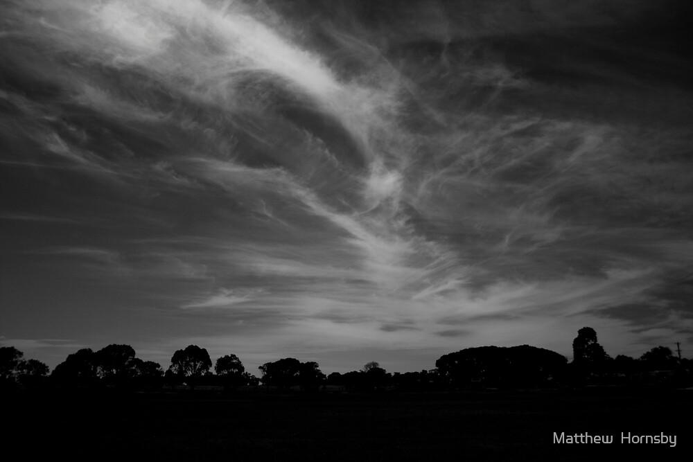 B & W  Sky by Matthew  Hornsby