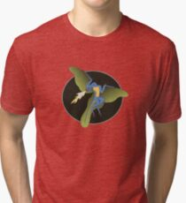 Archaeopteryx (the fire breathing kind) Tri-blend T-Shirt