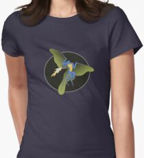 Archaeopteryx (the fire breathing kind) Women's Fitted T-Shirt