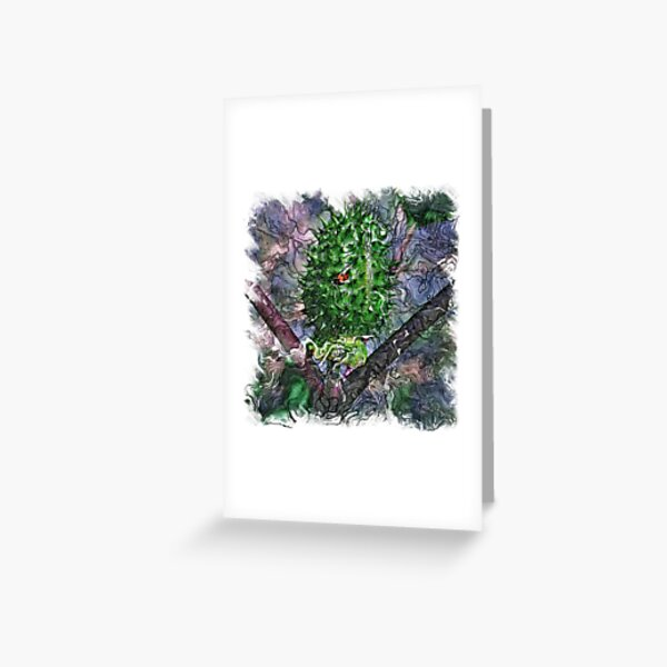 The Atlas of Dreams - Color Plate 120 Greeting Card