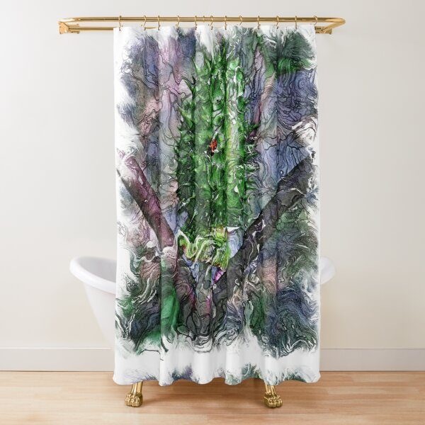 The Atlas of Dreams - Color Plate 120 Shower Curtain
