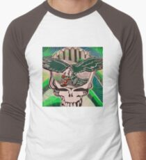 Poised for Flight ~ Wings Spread Bright Men's Baseball ¾ T-Shirt