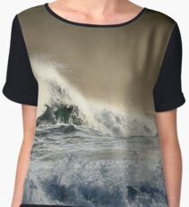 Dramatic seascape Chiffon Top