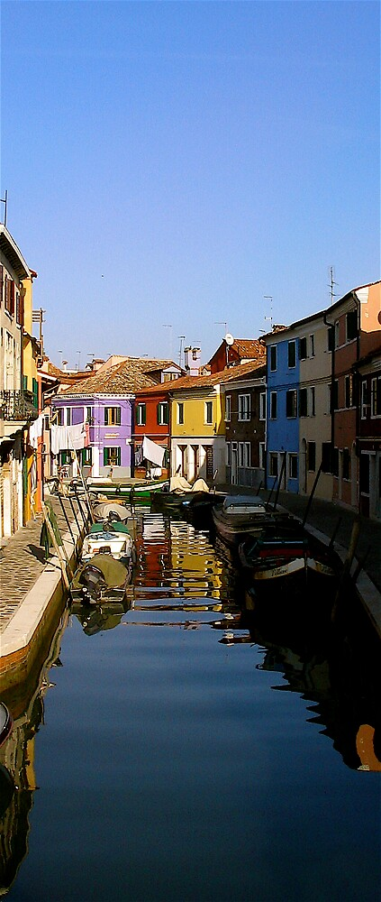 Burano, Venice by C1oud