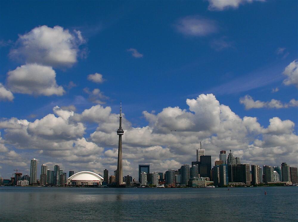 Toronto Skyline by C1oud