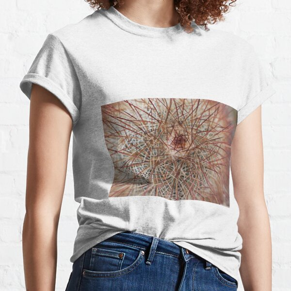 Barbed surface, cactus in thorns Classic T-Shirt