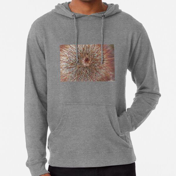 Barbed surface, cactus in thorns Lightweight Hoodie