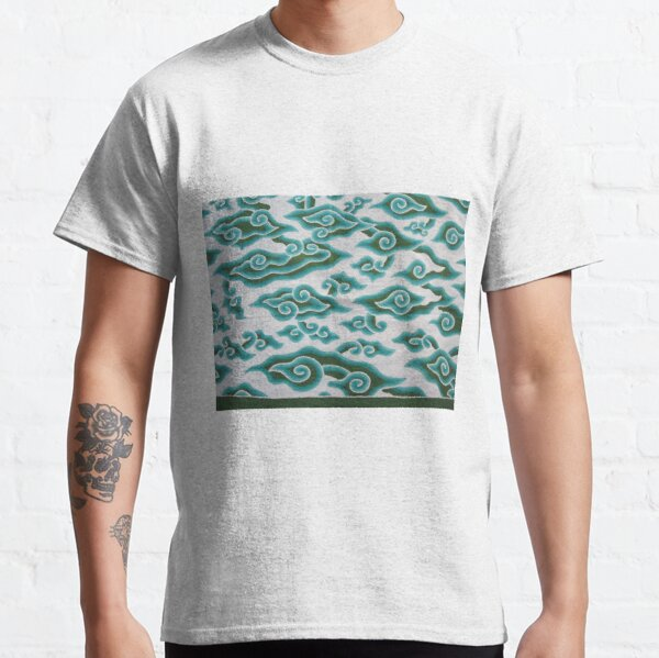 Ornament with blue spirals Classic T-Shirt