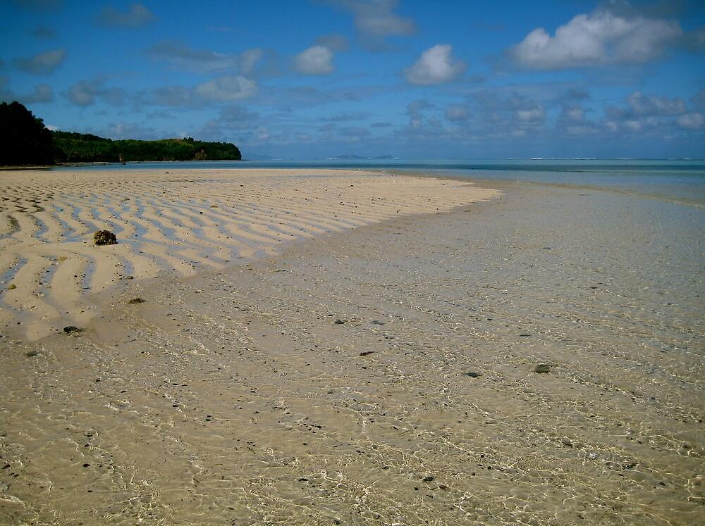 Beach, Fiji by C1oud