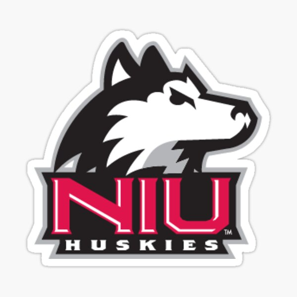 American Logo Products Northern Illinois Huskies Logo Magnet
