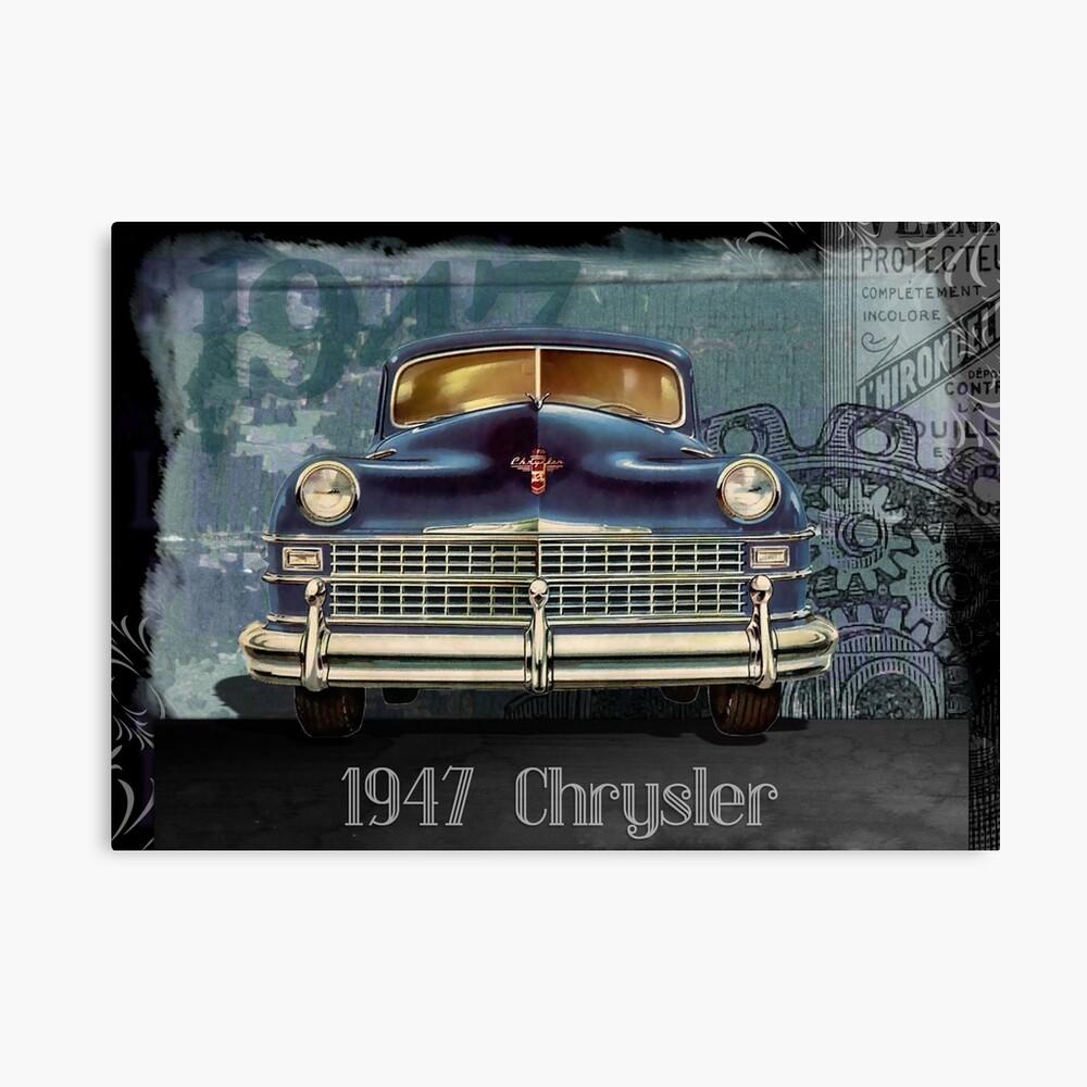 1947 Crysler Canvas Print