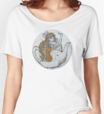 Elephant Teacup  Women's Relaxed Fit T-Shirt