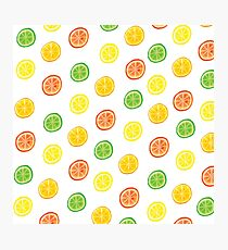 Citrus Photographic Print