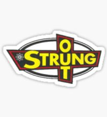 Strung Out Sticker