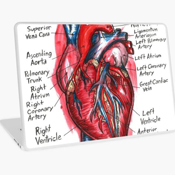 The Heart Laptop Skin