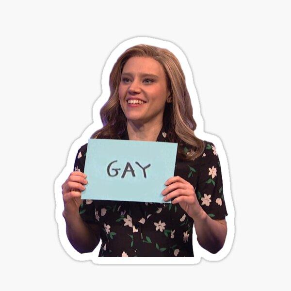 Kate McKinnon Gay Sticker
