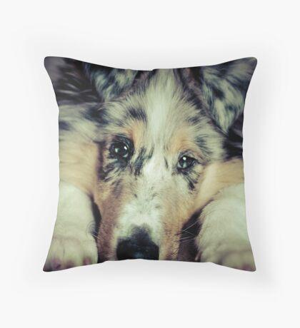 Folorn Throw Pillow