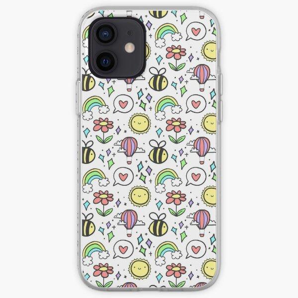 Positivity Pattern iPhone Soft Case