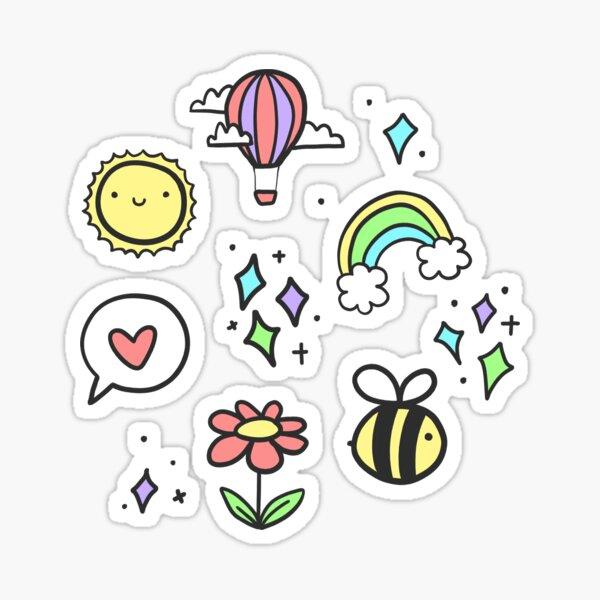 Positivitätsmuster Sticker
