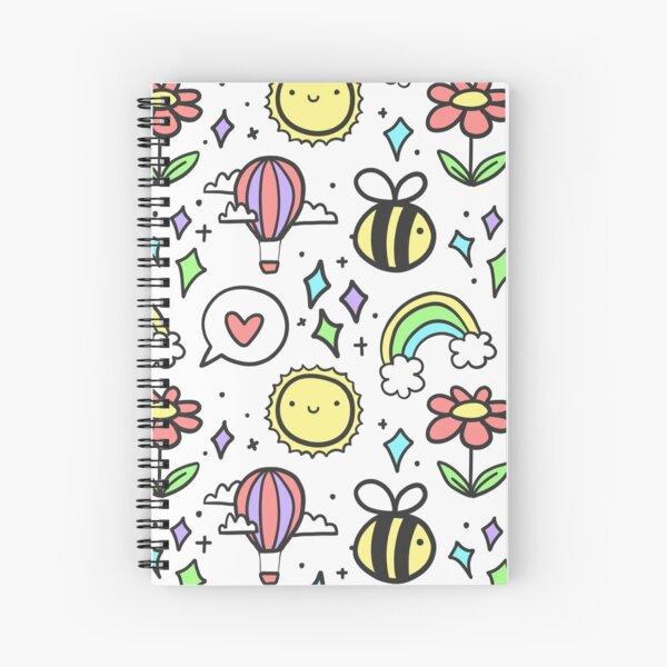 Positivity Pattern Spiral Notebook