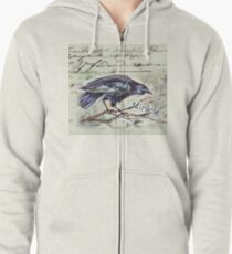 Country Diary - First, Do no harm - Primum non nocere Zipped Hoodie