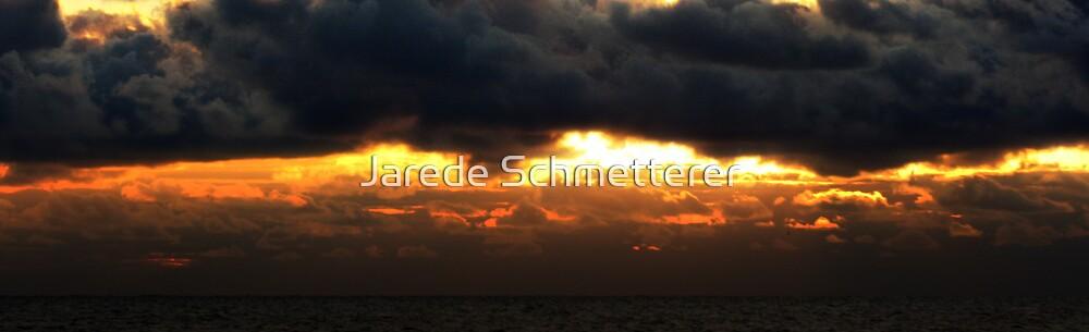 Sunrise Over Lake Michigan by Jarede Schmetterer