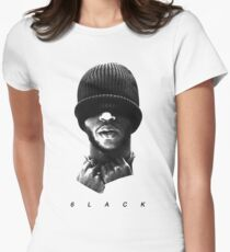 6LACK Women's Fitted T-Shirt