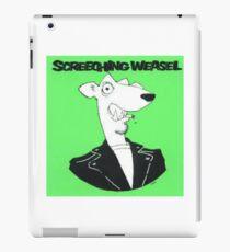 Screeching Weasel iPad Case/Skin