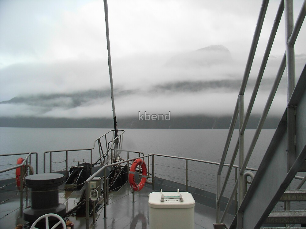 Dampness on Doubtful Sound by kbend