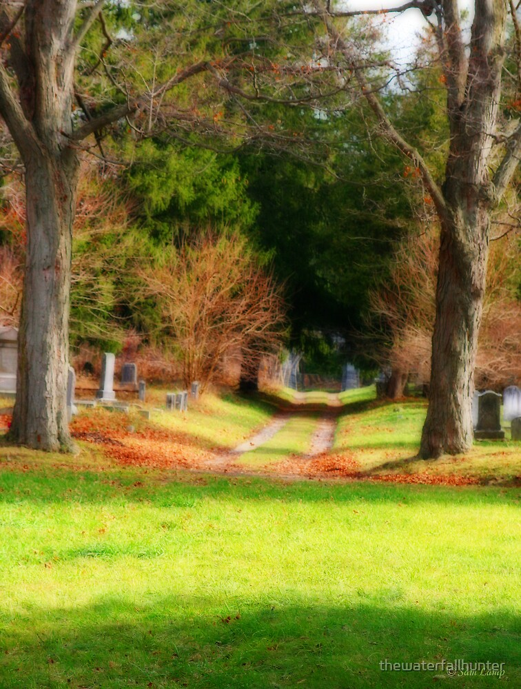 Cemtery Path by thewaterfallhunter