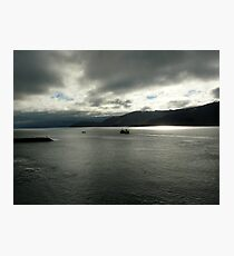 Heavy Skies Photographic Print