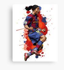Ronaldinho - Barcelona Legend Canvas Print