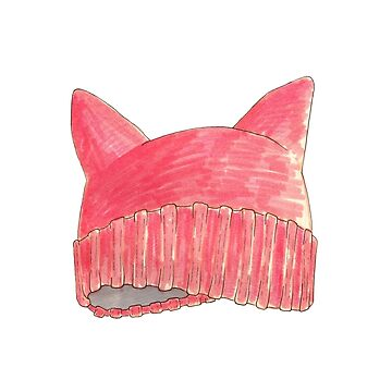 pussy hat by MixedMediaDaily