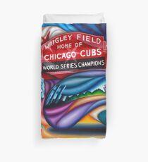Landmarks of Chicago Montage 3 Duvet Cover