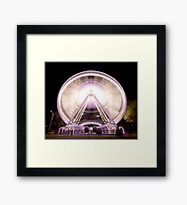Perth Wheel Framed Print