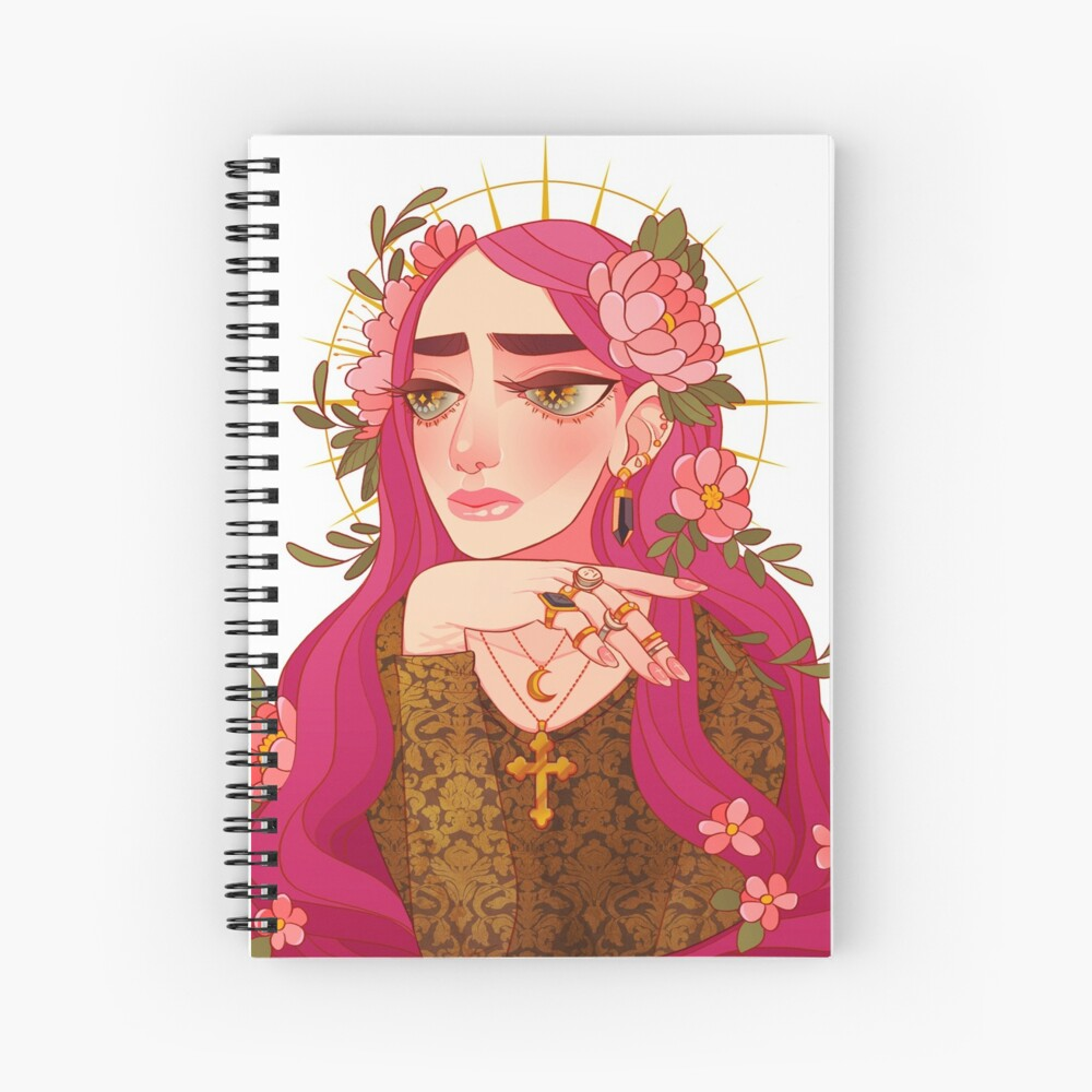 saint Spiral Notebook