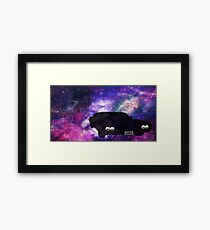 Supernatural Impala in the Stars Framed Print