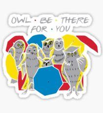 Owl friends Sticker