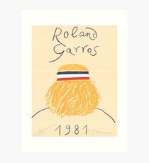 Call Me By Your Name Roland Garros 1981 Poster Art Print