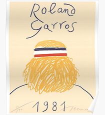 Call Me By Your Name Roland Garros 1981 Poster Poster