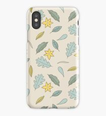 Leaves fall down iPhone Case/Skin