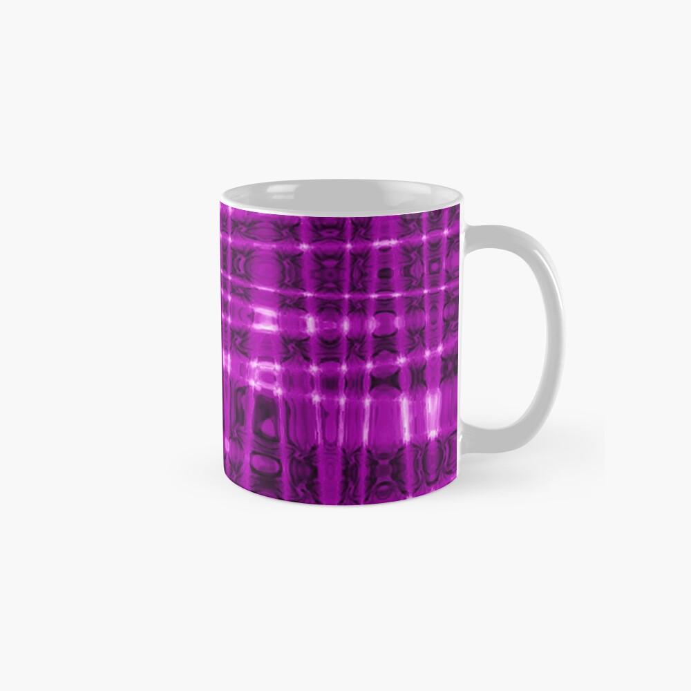 QUANTUM FIELDS ABSTRACT [1] VIOLET [1] Classic Mug