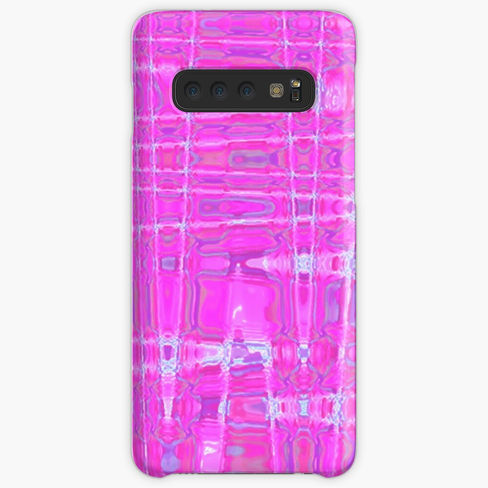 QUANTUM FIELDS ABSTRACT [1] PINK [1] Samsung Galaxy Snap Case